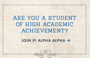 Join Pi Alpha Alpha